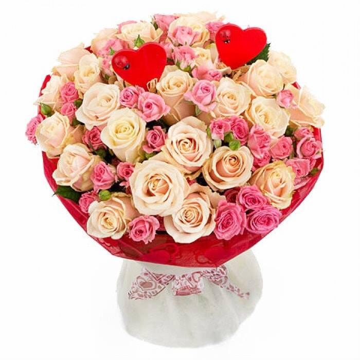 Букет из роз купить с доставкой минск